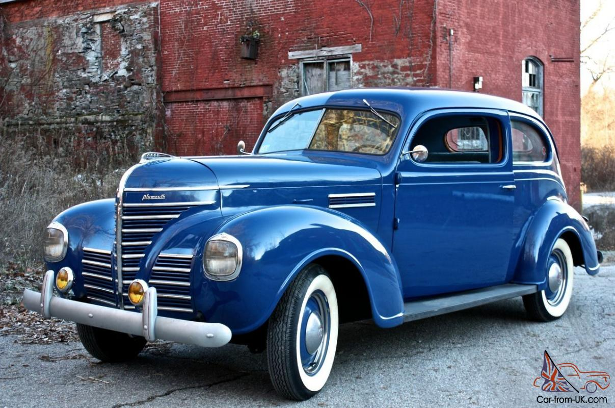 Plymouth other road king for 1939 plymouth 2 door sedan