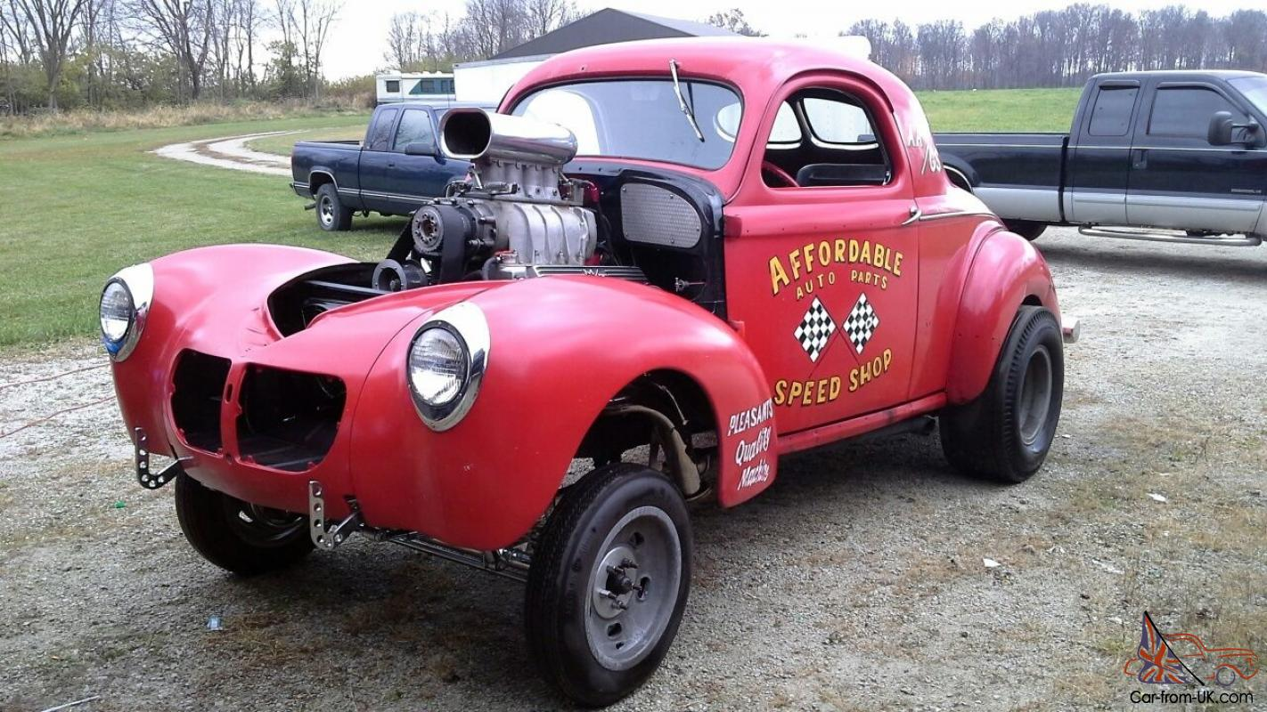 Willys GASSER RAT ROD HOT ROD
