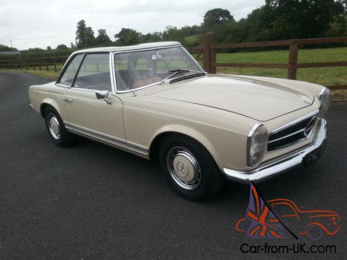 1967 mercedes benz 250 sl pagoda for Mercedes benz fixed price servicing costs