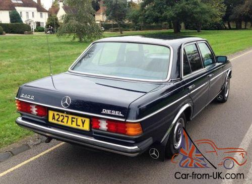 1983 Mercedes Benz 240d Saloon