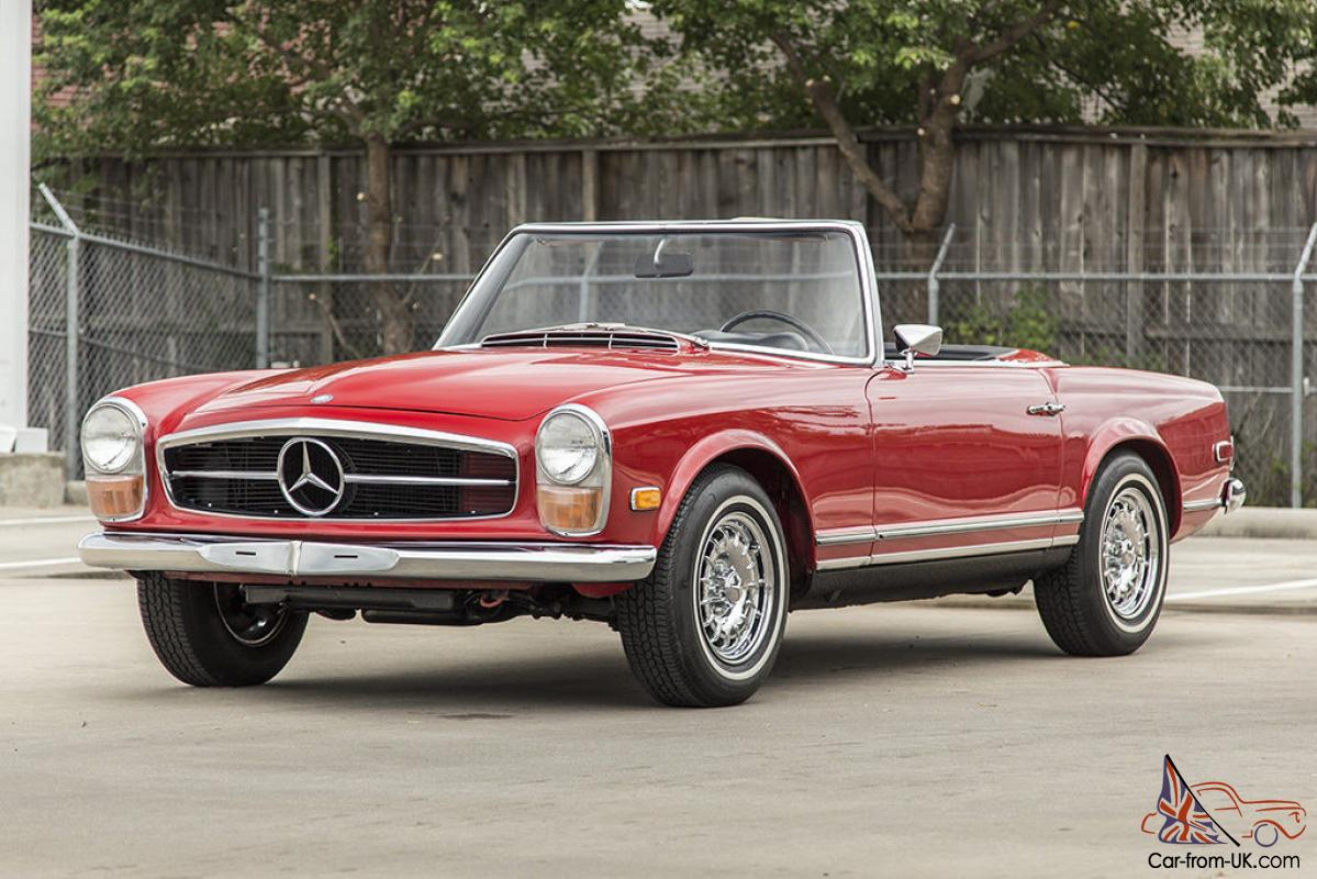 Mercedes benz sl class 250sl roadster for Mercedes benz sl convertible for sale