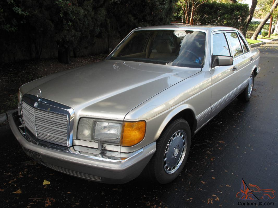 mercedes benz 400 series 4 door