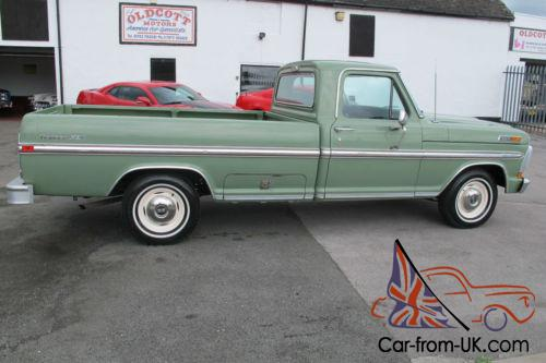 1971 ford f100 360 ci auto pickup 37 000 miles 2 previous owners. Black Bedroom Furniture Sets. Home Design Ideas