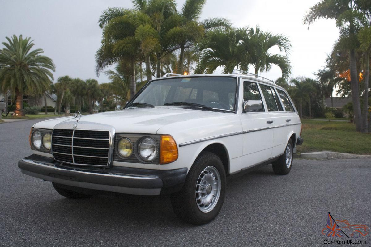 Mercedes benz 300 series estate wagon for Mercedes benz estate cars