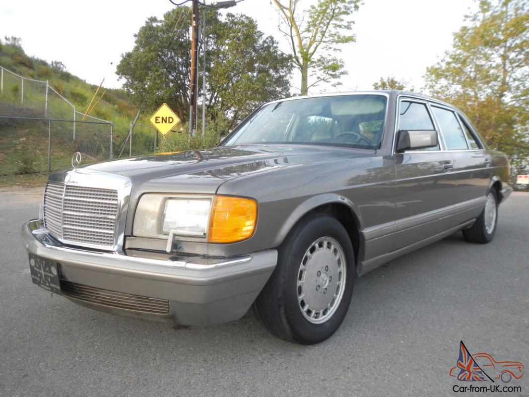Mercedes benz 500 series 560sel w126 for Mercedes benz w126 for sale
