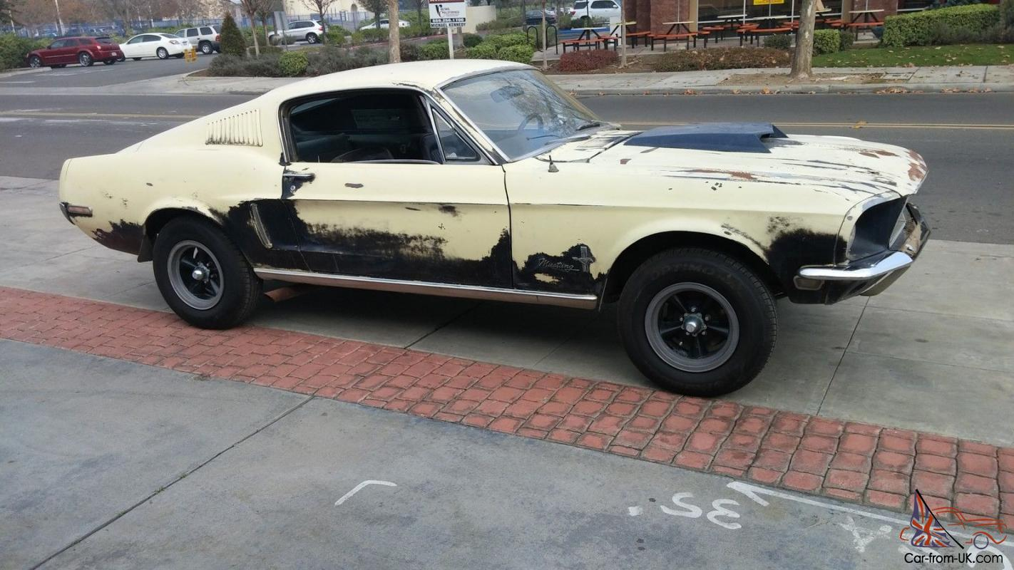 Mustang Fastback For Sale