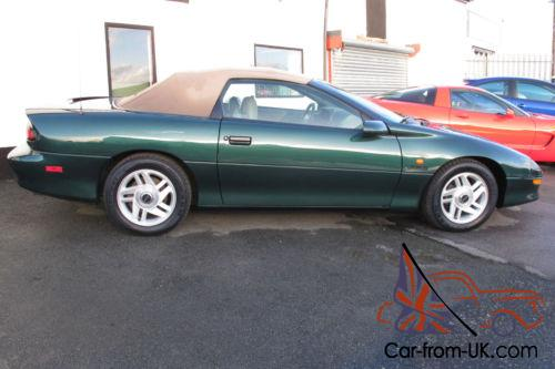 1995 chevrolet camaro z28 5 7 litre 6 speed manual convertible 82 000 miles. Black Bedroom Furniture Sets. Home Design Ideas