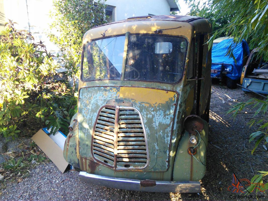 Morris J VAN Austin Commer Thames Bread Barn Find Rare In Bayswater VIC