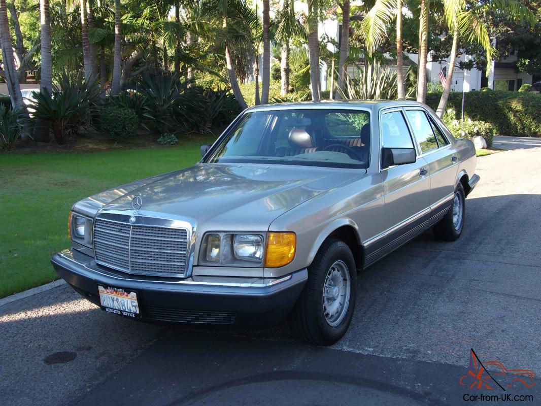Mercedes benz 300 series 300sd for 1985 mercedes benz 300sd