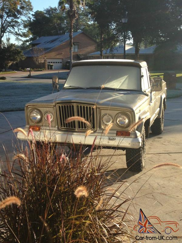Jeep : Other J3000 Camper Special