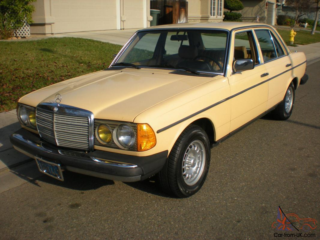 mercedes benz 200 series 240 d sedan