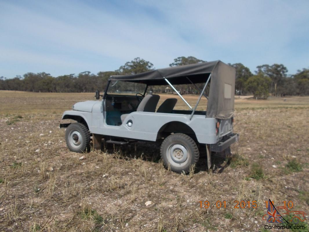 Jeep CJ6 1960 4x4 Australian Build in Avoca, VIC for sale
