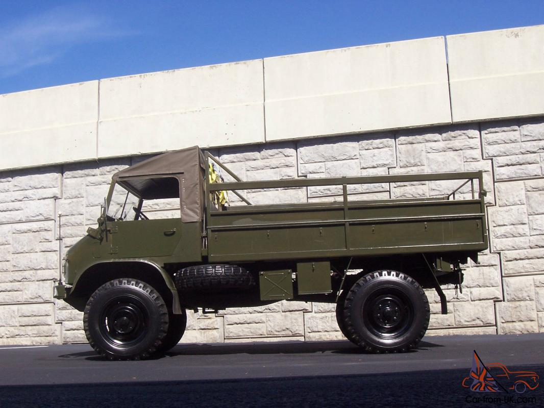 Unimog 404 For Sale >> Mercedes-Benz : Other 404S