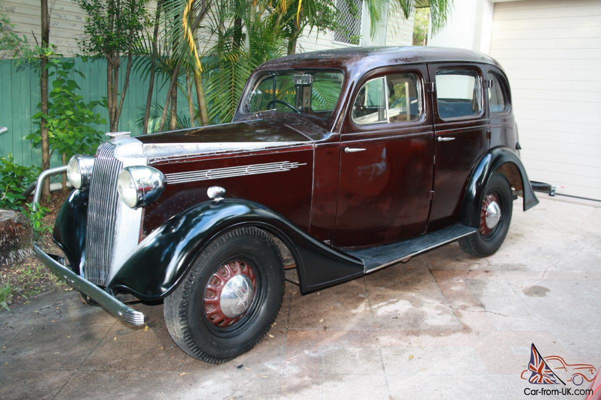 Vintage Vauxhall 1937 Holden Body Almost Totally Original From NEW ...
