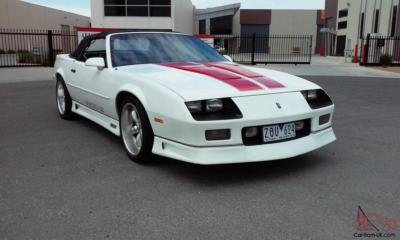 Chevrolet Camaro Iroc Z28 Convertible Rhd 91 Not Buick Pontiac Cadillac Holden In Sunshine West Vic