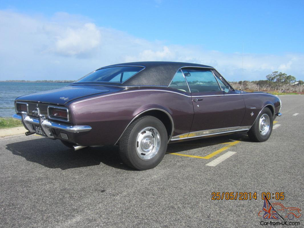 Chevrolet 1967 Camaro Factory Rs Ss Usa Muscle In Mandurah Wa