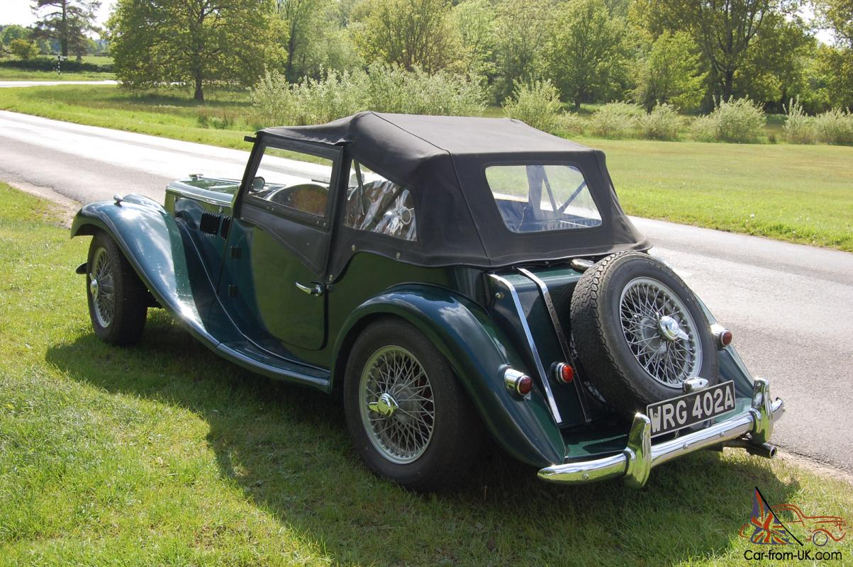 1963 mg tf triumph gentry in racing green kit with tan interior. Black Bedroom Furniture Sets. Home Design Ideas