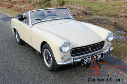 1971 mg midget replicas something is
