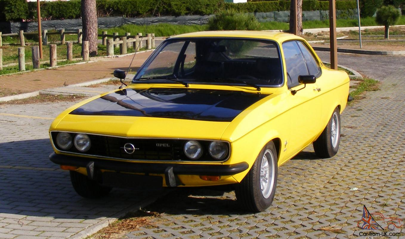 1974 opel manta a 1900 sr. Black Bedroom Furniture Sets. Home Design Ideas