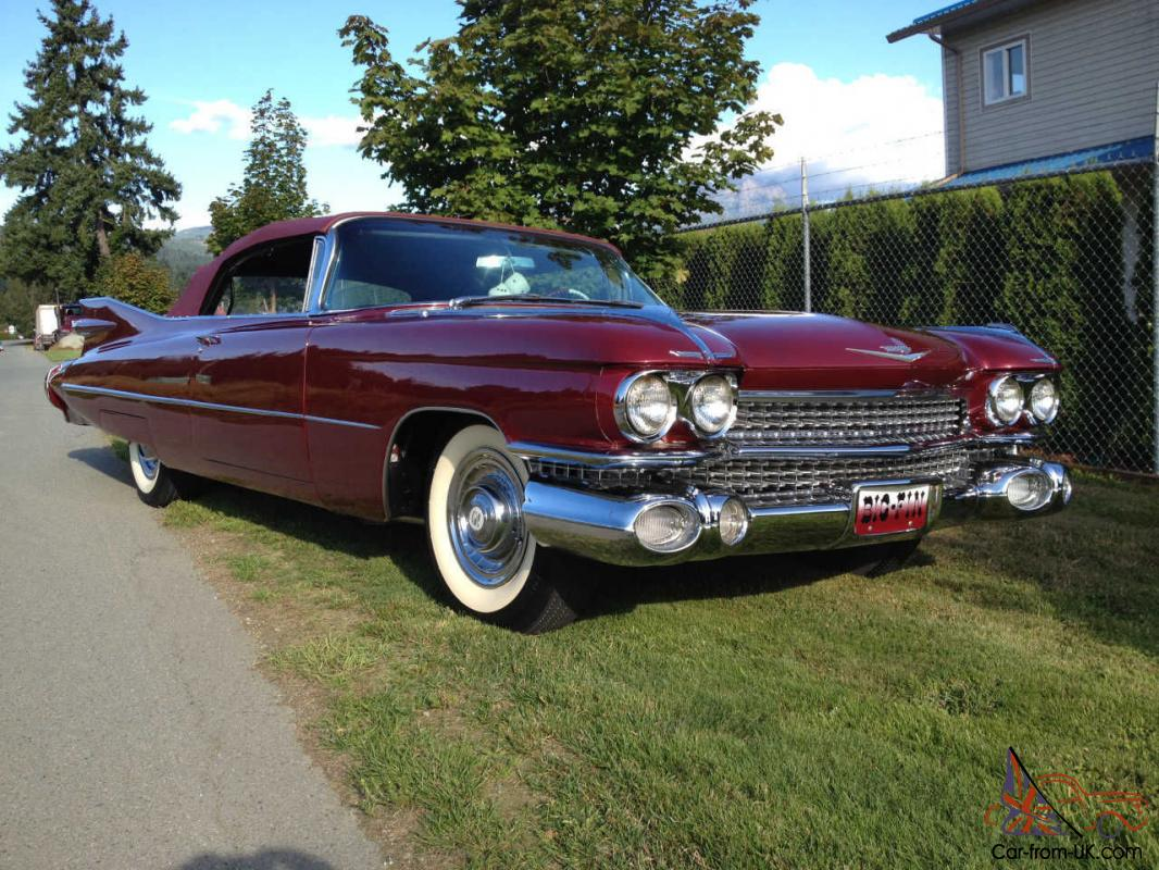 1959 series 62 cadillac convertible collectible in mint condition