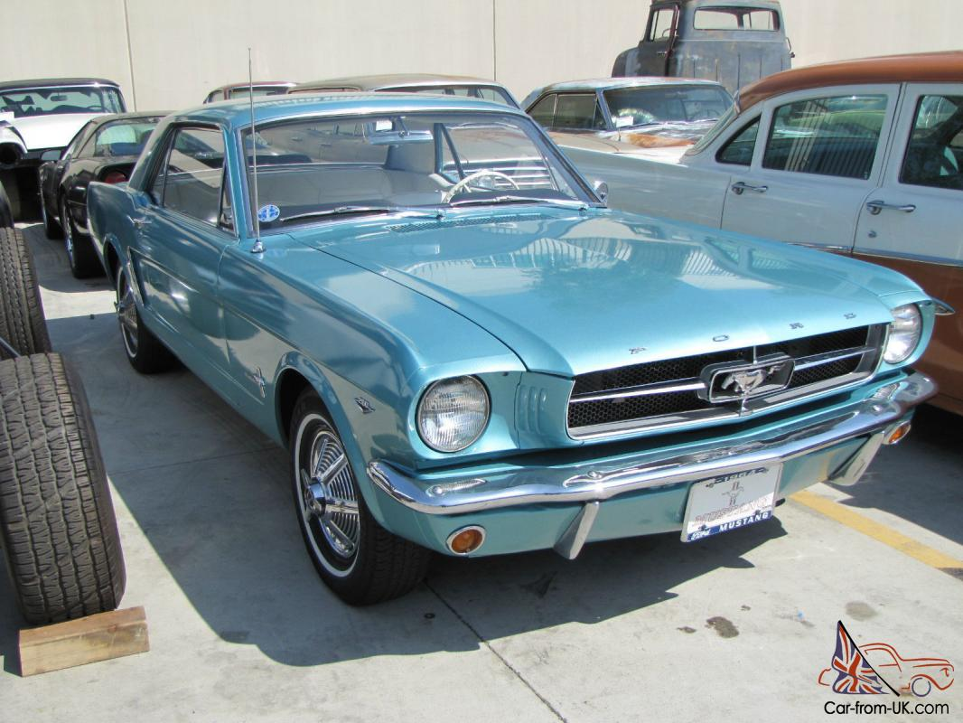 dynasty green 1964 1 2 ford mustang coupe 260 v8. Black Bedroom Furniture Sets. Home Design Ideas