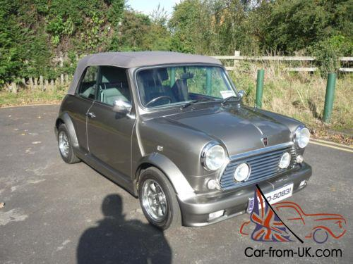 1994 Rover Mini Cabriolet In Rare Grey With Lots Of Upgrades And