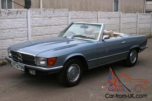 1975 Mercedes Benz 450sl Roadster