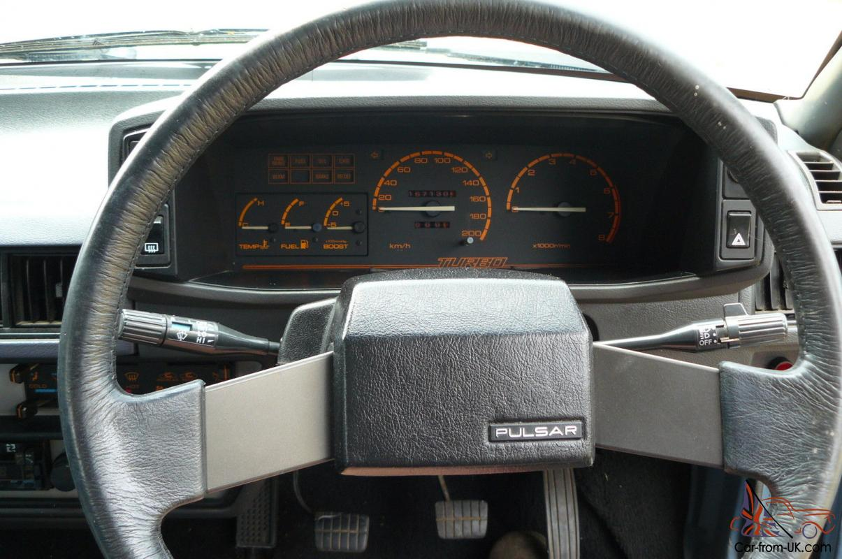 1984 nissan pulsar hatchback for Nissan pulsar interior