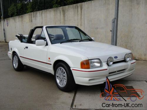 ford escort xr3i cabriolet totally concourse the best. Black Bedroom Furniture Sets. Home Design Ideas