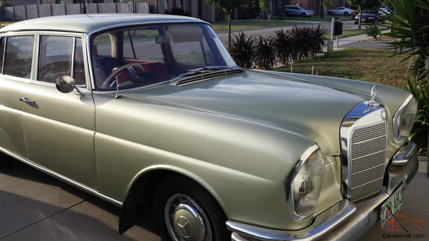 Mercedes benz 220se 1962 sedan in cranbourne vic for Mercedes benz fixed price servicing costs