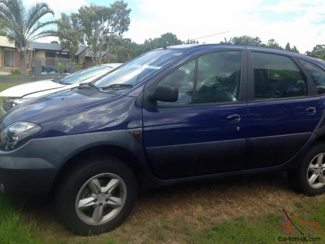 renault 4x4 all wheel drive 2003 low ks cheap in wendouree vic. Black Bedroom Furniture Sets. Home Design Ideas