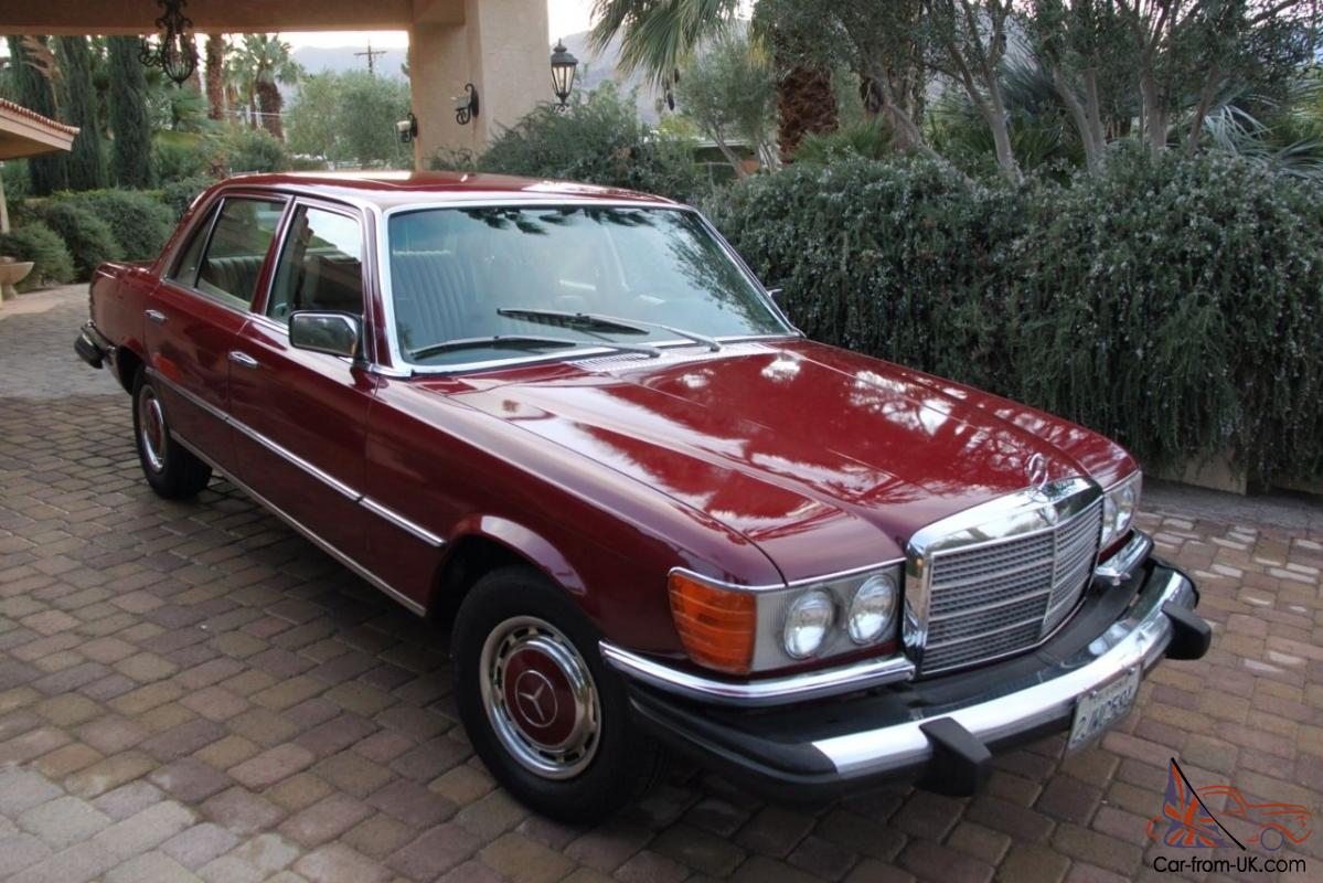 mercedes benz 400 series sel