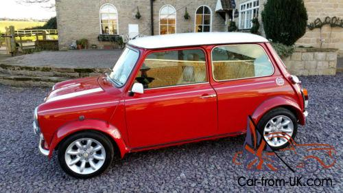 classic austin rover mini cooper sport v reg 1 3 1275 gt red white 1 owner p x. Black Bedroom Furniture Sets. Home Design Ideas