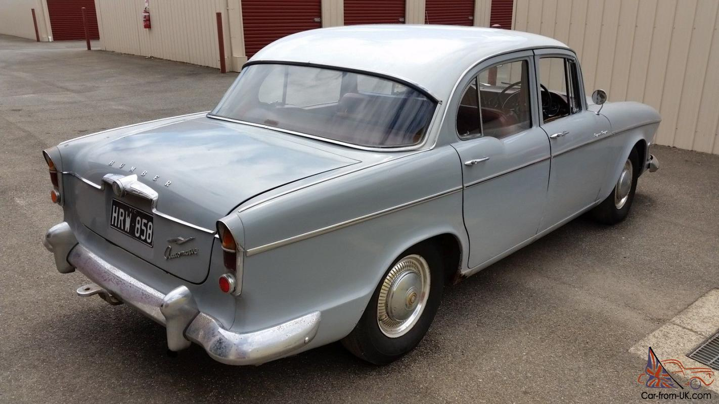 Automatic Cars For Sale Ebay Uk: 1962 Humber Super Snipe 6 CYL Automatic Runs Great In