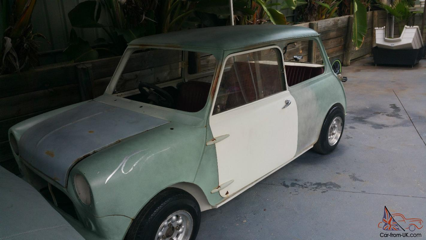 Morris Minor 1963 1000cc Sedan Unfinished Project Australia ...