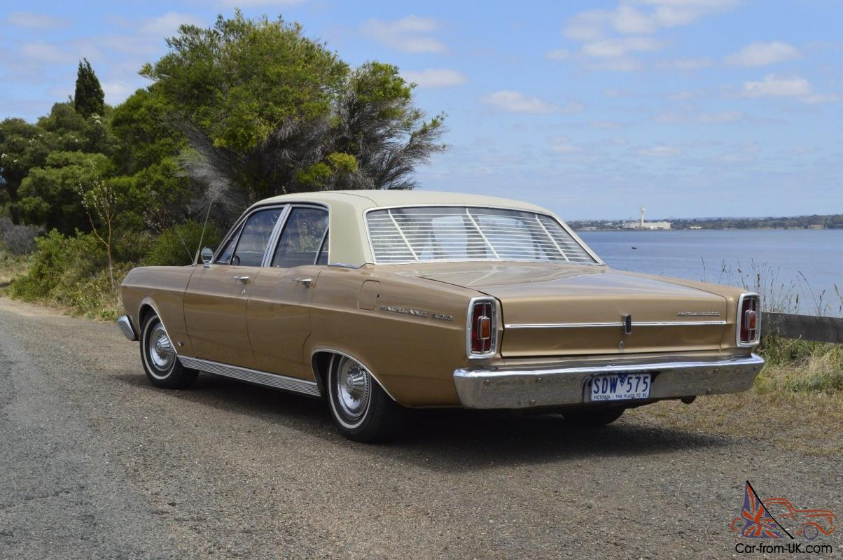 Ford fairlane 500 1968 289 windsor 3 sp automatic matching numbers