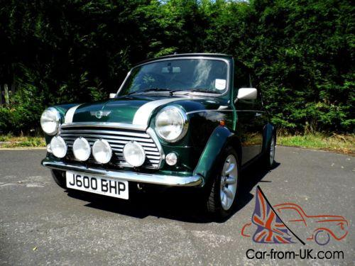 Rover Classic Mini Cooper Sport 500 In British Racing Green Only