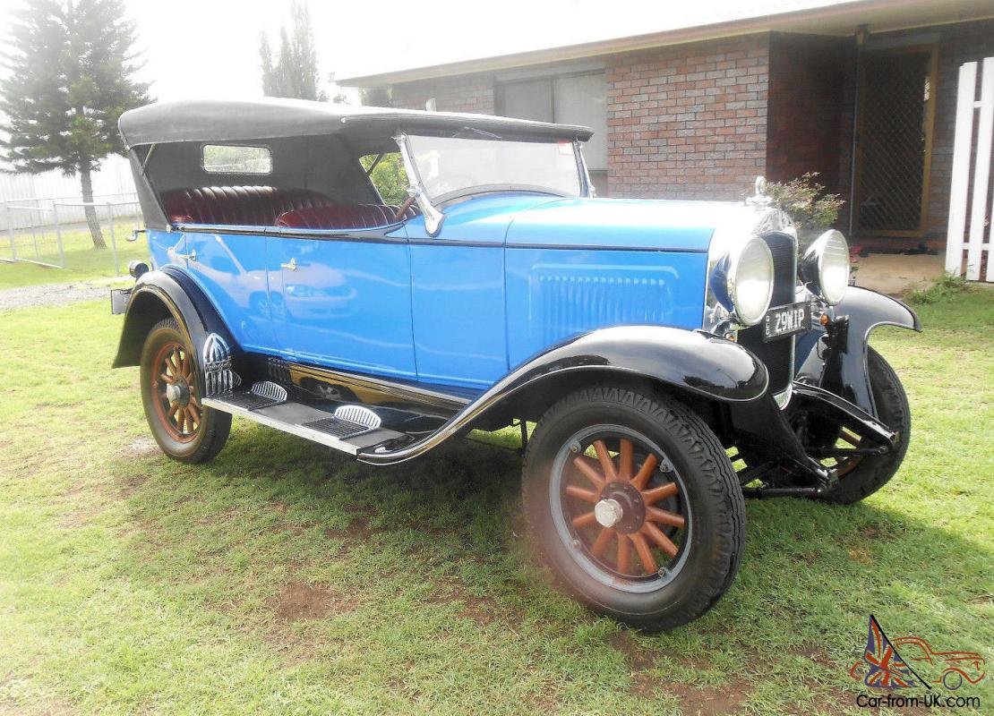 Whippet Car: 1929 Willys Overland Whippet 96A In Deception Bay, QLD