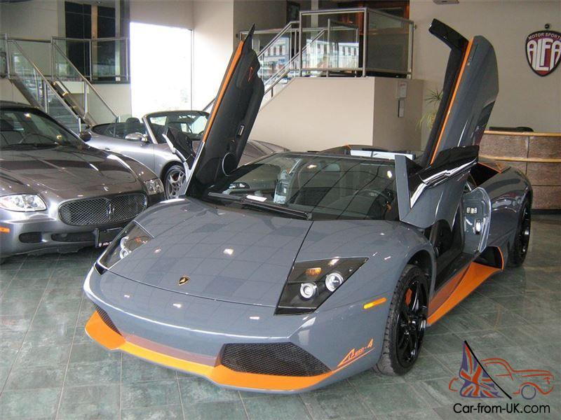 Lamborghini Murcielago Lamborghini Murcielago Lp 650 4 Roadster
