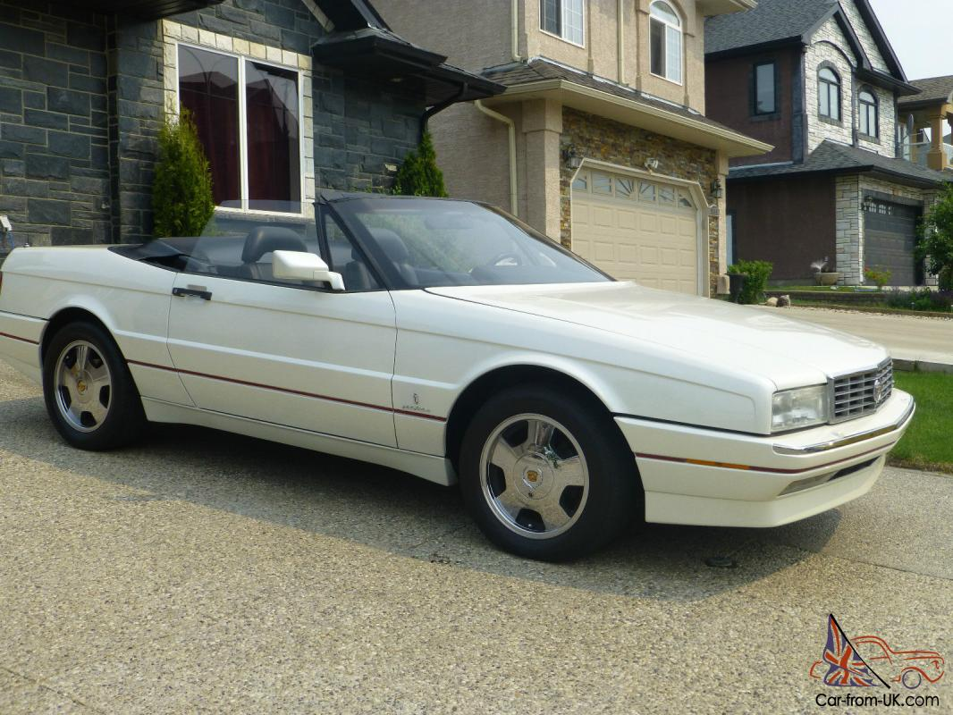 cadillac allante value leader convertible 2 door. Black Bedroom Furniture Sets. Home Design Ideas