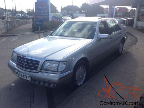 Mercedes benz s280 2 8 auto s280 only 65000 miles full for Mercedes benz s280 for sale