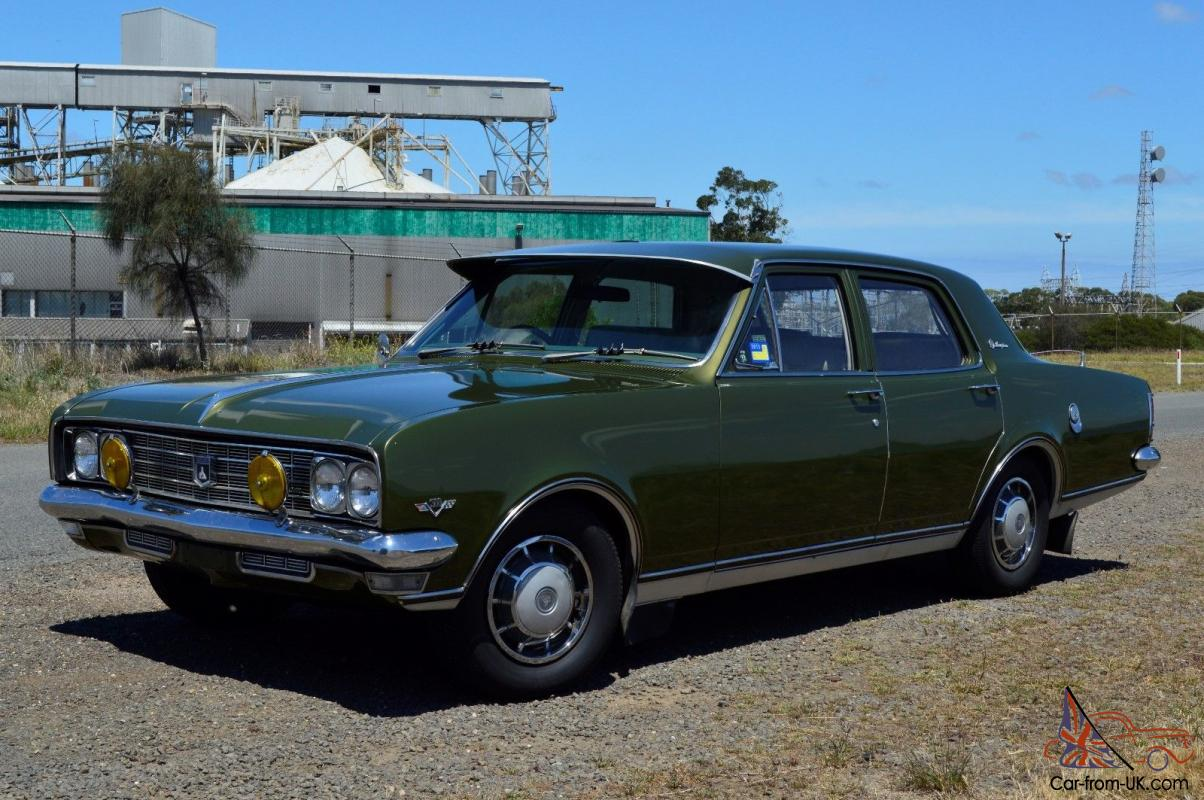 Ht Holden Brougham 1969 4d Sedan 2 Sp Automatic 5l Carb