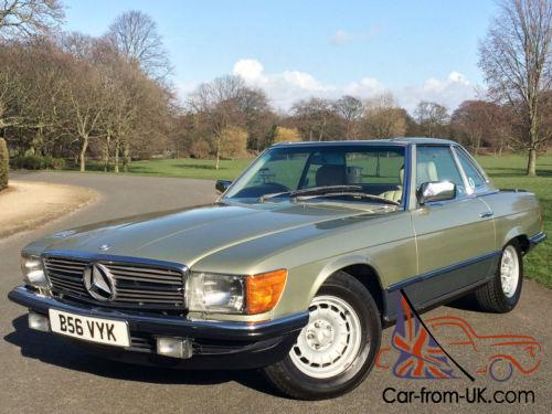 1984 mercedes benz 500sl r107 v8 automatic 72 000 miles for Mercedes benz fixed price servicing costs