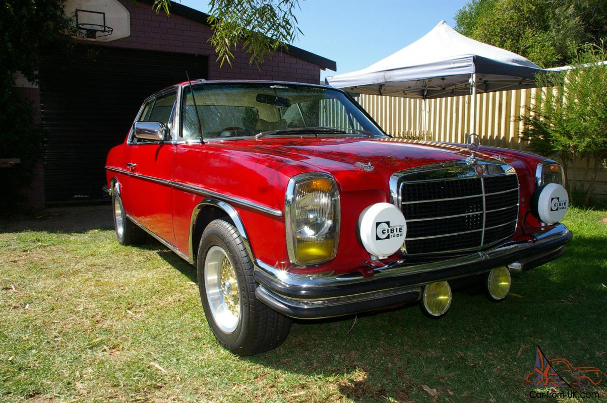 Mercedes 1975 W114 280 Rally Coupe Project 5 Speed Manual