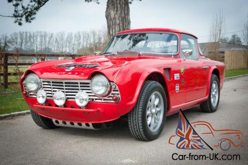1962 Triumph Tr4 Historic Rally Car