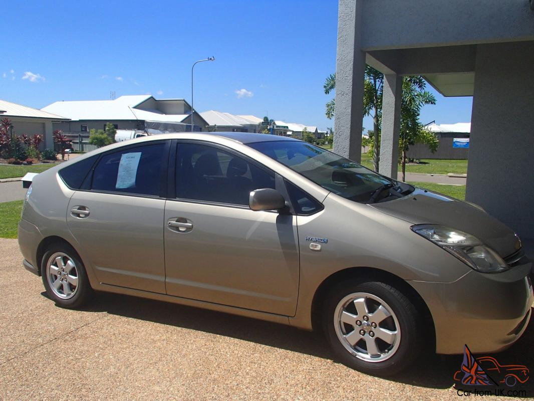 toyota prius hybrid 2007 5d hatchback continuous variable 1 5l multi in kirwan qld. Black Bedroom Furniture Sets. Home Design Ideas