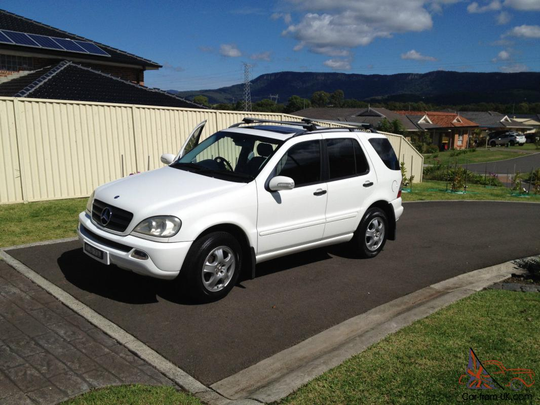 mercedes benz ml 270 cdi 4x4 2004 4d wagon 5 sp automatic tipsh 2 7l in dapto nsw. Black Bedroom Furniture Sets. Home Design Ideas