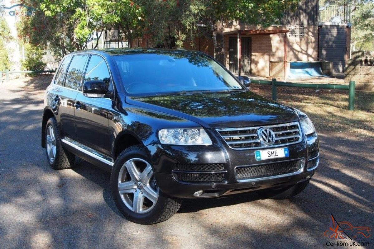 vw volkswagen touareg v10 tdi 2004 excellent condition inc gst no reserve in dural nsw. Black Bedroom Furniture Sets. Home Design Ideas