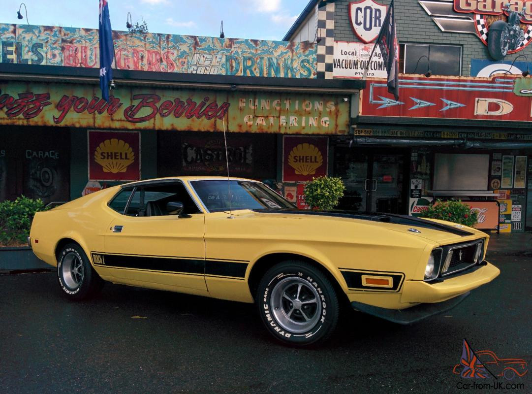 1973 ford mustang mach 1 q code numbers matching in palmwoods qld