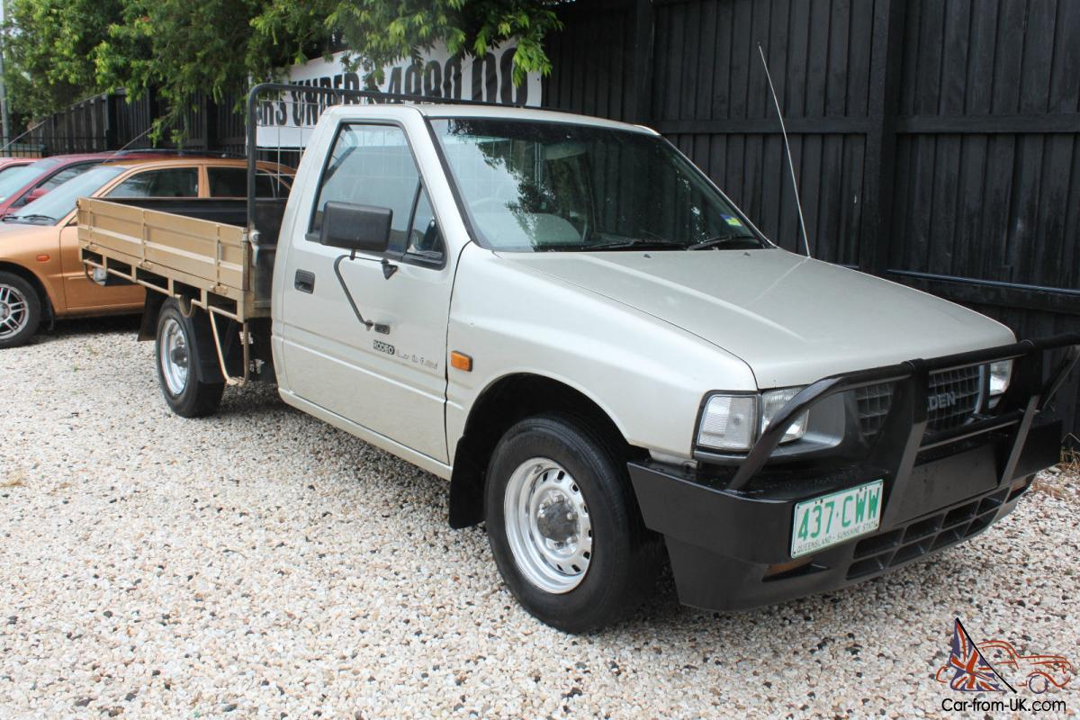 Holden Rodeo Lx 1995 Ute 5 Sp Manual 2 6l Multi Point F